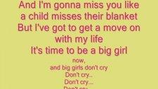Fergie Big Girls Don't Cry Lyrics