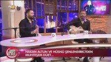 Hakan Altun & Hüsnü Şenlendirici - Yorgun Yıllarım (Canlı Performans)
