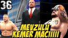 WWE 2K16 Kariyer Türkçe | Olayli Authority Kemer Maci | 36.Bölüm | Ps4