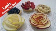 Meyveli Mini Tart Nasıl Yapılır - Tart Hamuru Tarifi (Leziz Yemek Tarifleri )