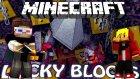 UÇAN FLASH HIZINDA HACKER! - Minecraft KORKUNÇ ŞANS BLOKLARI SAVAŞI! w/ TTO
