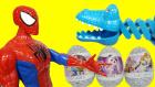 Örümcek Adamın Timsahla İmtihanı! Ters Yüz Doktor Dottie ve Prenses Sofia Sürpriz Yumurtaları