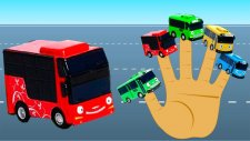 The Little Bus Finger Family Song Nursery Rhymes