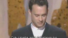 Tom Hanks - Oscar Ödülü Konuşması (Forrest Gump - 1995)