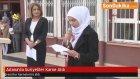Adana'da Suriyeliler Karne Aldı