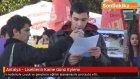 Antalya - Liselilerin Karne Günü Eylemi