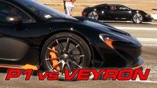 Bugatti Veyron, McLaren P1'e Karşı