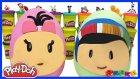 Dev Sürpriz Yumurta Oyun Hamuru Play Doh Pepe ve Bebe Evcilik TV