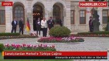 Sibel Kekilli'nin De Aralarında Bulunduğu Sanatçılardan Merkel'e Türkiye Çağrısı