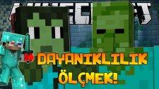 Minecraft'ta DAYANIKLILIK ÖLÇMEK!
