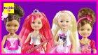 Barbie ve Ailesi - Barbie'nin Kızı Chelsea Ceren Arkadaşlarını Eve Çağırıyor