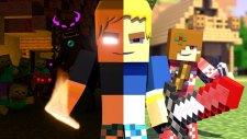 Burak Oyunda Minecraft Animation 2 - Burak vs Mobs   HG Animation 