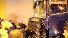 Havza Tüneli'nde 11 Aracın Karıştığı Zincirleme Kazada 7 Kişi Yaralandı