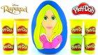 Rapunzel DEV Sürpriz Yumurta Açma Oyun Hamuru Disney Frozen Çilek Kız Gogo's PEZ Oyuncakları