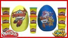 Dev Sürpriz Yumurta Oyun Hamuru Play Doh Super Wings Harika Kanatlar Evcilik TV