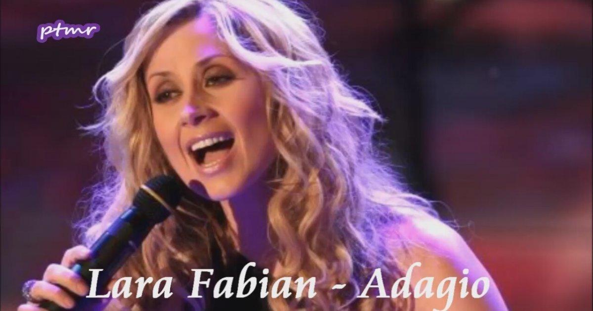 Lara Fabian - Adagio (english version with lyrics) - YouTube