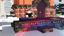 Minecraft'ta Gerçek Hayat! - Minecraft Harita / Ahmetaga
