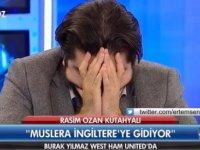 Rasim Ozan Kütahyalı'nın Ağlayarak Stüdyo'yu Terk Etmesi