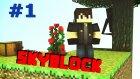 Minecraft Skyblock 1.bölüm - Konuşmayı Öğrendim !