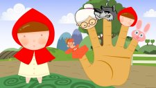 Red Little Hood Finger Family Song Nursery Rhymes