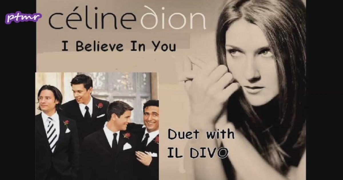 Celine dion il divo i believe in you duet with il divo eng translation lyrics - Il divo i believe in you ...