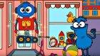 Edi Blue Bir Robot Yapmak İstiyor - Eğitici Çizgi Film - Bulmaca Oyunu / Mutlu Cocuk