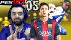 PES 2016 My Club | Yeni Lig icin savas | 5.Bölüm | Türkçe oynanış | Ps4