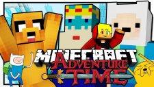 Türkçe Minecraft   Adventure Time! (Macera Zamanı)   Ağaç Ev & Şeker Krallığı! - 1bölüm / Tto