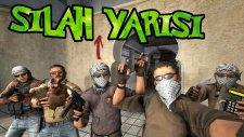 MERMİYE KAFA ATTI!! - CS:GO - Silah Yarışı