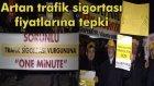 Taksicilerden Sorunlu Trafik Sigortasına One Minute