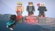 YouTuberlar VS İzleyiciler! - HARİKA OLUM BU! - Bayrak Kapmaca (4vs4) - Minecraft)