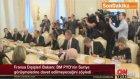 Fransa Dışişleri Bakanı Laurent Fabius, PYD Cenevre Görüşmelerine Davet Edilmeyecek