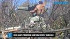 Rus Aracının Türkmenler Tarafından Vurulma Anı