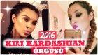 Kim Kardashian Saç Örgüsü 2016 / Makyaj Ve Güzellik