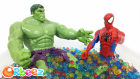 Spiderman VS Hulk Orbeez Banyosu Yapıyor | PAW Patrol Batman Frozen Mashems MLP POP