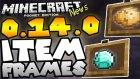 Minecraft PE 0.14.0 Yenilikleri | Eşya Çerçeveleri! (Item Frames!) Alpha Build1 / bthnclks