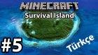 Minecraft: Survival Island #5 | Türkçe