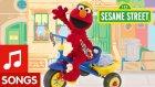 Sesame Street: Elmo Riding A Tricycle | Susam Sokağı: Elmo Bir Üç Tekerlekli Bisiklet Sürme Şarkısı