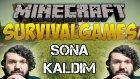 Minecraft: Hunger Games - YİNE SONA KALDIM! | Türkçe