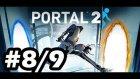 Portal 2 Türkçe Multiplayer #8/9 - Beyin Erimesi