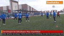 Dersimspor'da Gölcükspor Maçı Hazırlıkları / Antrenmandan detaylar