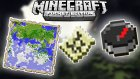 Minecraft Pe - Pusulalı Harita Nasıl Yapılır ?  / Bthnclks