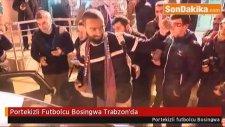 Portekizli Futbolcu Jose  Bosingwa Trabzon'da