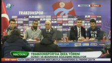 Trabzonspor'da 2 İmza Birden!