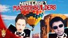 Uçan Balon? | Minecraft Türkçe Master Builders | Bölüm 41 / Oyunportal