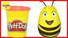 Dev Sürpriz Yumurta Oyun Hamuru Play Doh Arı Maya Evcilik TV
