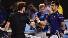 Avustralya Açık'ta Şampiyon Novak Djokovic - Andy Murray 0-3 Novak Djokovic