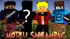 Minecraft : Modlu Saklambaç - Egzotik İnekler(Ore Spawn) - Yeni Skin! W/tto,azizgaming,barış Oyunda