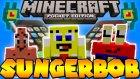Süngerbob Modu | Minecraft Pe 0.13.0~0.13.1 Mod | Spongebob Mod | Pocket Edition / Bthnclks