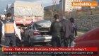 Bursa - Park Halindeki Kamyona Çarpan Otomobil Hurdaya Döndü: 1 Ölü